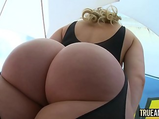 anal, ass to mouth, big ass, blonde, booty, bubble, cum, cum in mouth, dildo, gaping, hd videos, mouth, plug, rimming, swallow
