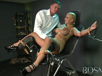 babe, bdsm, british, chair, doctor, femdom, fetish, hardcore, hd videos, slave, strapon