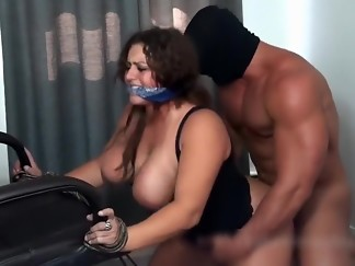 bdsm, big tits, chair, doggystyle, fuck, hardcore, hd videos, tied