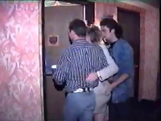 double penetration, fuck, group sex, hotel, hottie, sex, vintage