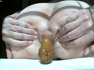 anal, eating, facesitting, panties, prolapse
