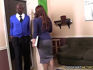 bbc, big dick, black, dogfartnetwork, fart, fuck, horny, interracial, monster, work