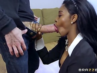 bitch, black, blowjob, casting, cock, deepthroat, ebony, mouth, reality, sloppy, slut, spit, webcam, wet
