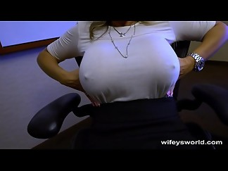 big tits, blowjob, caught, cum, cum in mouth, cumshot, hidden cams, masturbation, milf, mouth, swallow, webcam, wife