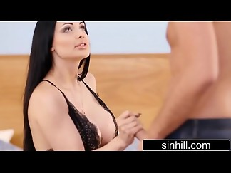 big tits, brunette, cunnilingus, doggystyle, european, fake, fuck, hardcore, hd videos, heels, hungarian, lingerie, pussy, sex, tied