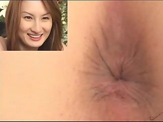 anal, asian, big ass, censored, closeup, enema, insertion, jav, nude, pov