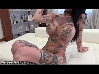anal, big dick, blowjob, casting, deepthroat, double penetration, european, fake, fuck, group sex, heels, kissing, nipples, piercing, pov, sex, slut, tattoo, tied