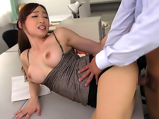 asian, big tits, cock, professional