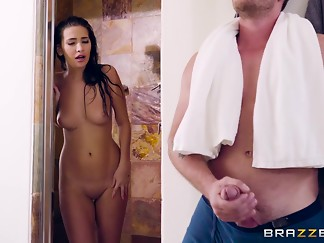 bathroom, blowjob, brunette, caught, doggystyle, fuck, hardcore, hd videos, masturbation, natural, pornstar, riding, tiny